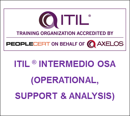 Curso ITIL OSA Operational Support and Analisys